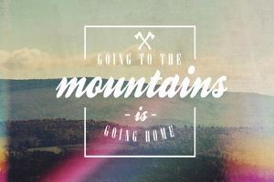 Going to the Mountains by Vintage Skies