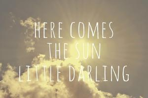 Here Comes the Sun by Vintage Skies