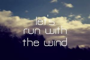 Run with the Wind by Vintage Skies