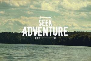Seek Adventure by Vintage Skies