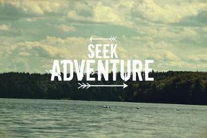Seek Adventure by Vintage Skies