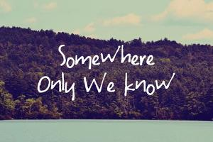 Somewhere Only We Know I by Vintage Skies