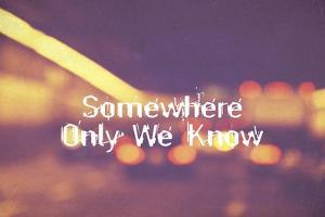 Somewhere Only We Know II by Vintage Skies