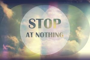 Stop at Nothing by Vintage Skies