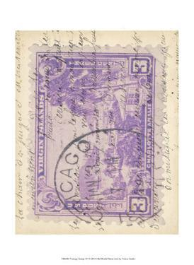 Vintage Stamp IV