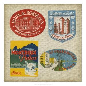 Vintage Travel Collage I