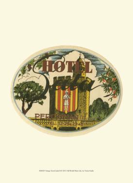 Vintage Travel Label II