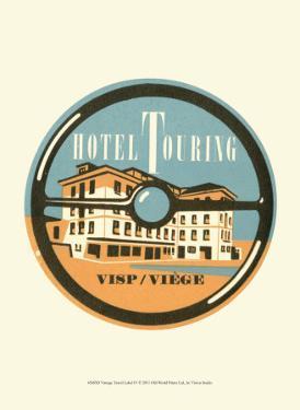Vintage Travel Label IV
