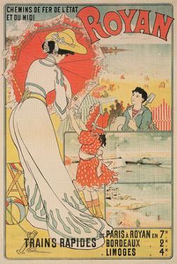 Vintage Travel Poster for Royan, France