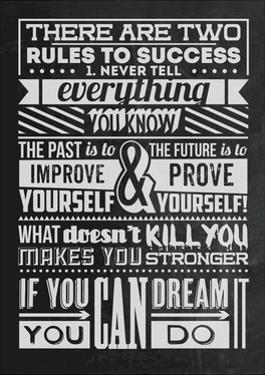 Success Set Black by Vintage Vector Studio
