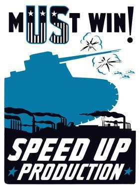 Vintage World War II Propaganda Poster