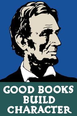 Vintage Wpa Propaganda Poster Featuring President Abraham Lincoln