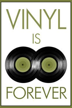 Vinyl is Forever Music Plastic Sign