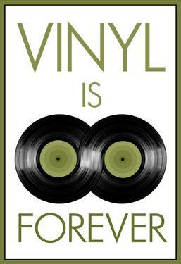 Vinyl is Forever Music Poster