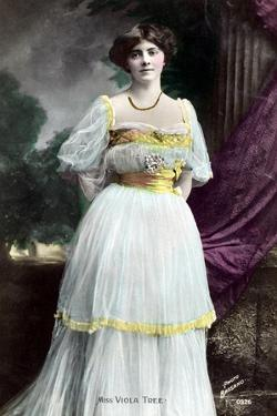 Viola Tree (1885-193), English Actress, 1906