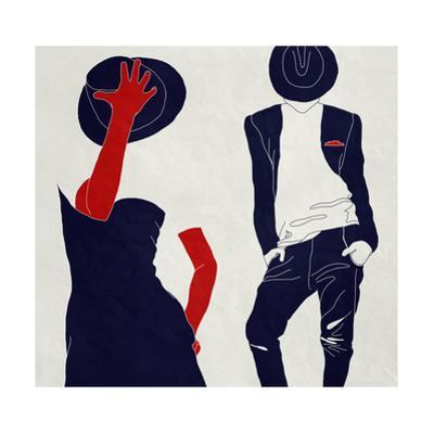 Stylish Couple,, Black and White