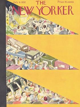 The New Yorker Cover - July 9, 1932 by Virginia Andrews