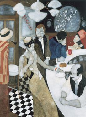 Cafe Metropol by Virginia Ergüín