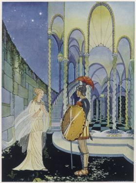 He Tells Ariadne Daughter of Minos King of Crete That by Virginia Frances Sterrett