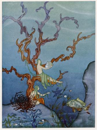 Sea-Nymphs by Virginia Frances Sterrett