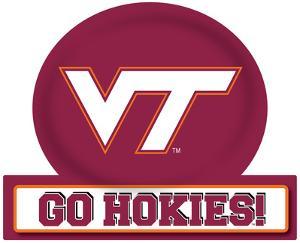 Virginia Tech Hokies Jumbo Tailgate Peel & Stick
