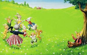 Brer Rabbit by Virginio Livraghi