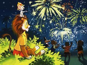 Leo the Friendly Lion by Virginio Livraghi