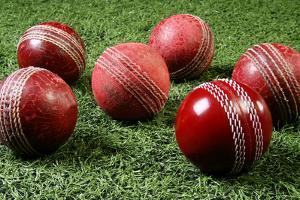 Close-Up of Cricket Balls by Visage