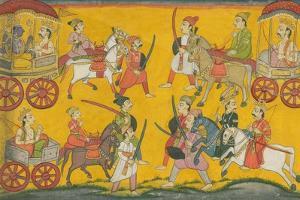 Vishnu Procession, C. 1755