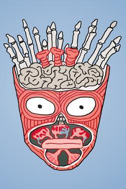 Visible Frylock Aqua Teen Hunger Force Television Plastic Sign