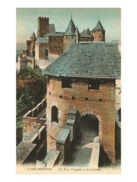Visigoth Tower, Carcassonne, France