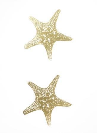 2-Up Gold Foil Starfish I by Vision Studio