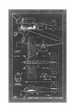 Aeronautic Blueprint II by Vision Studio