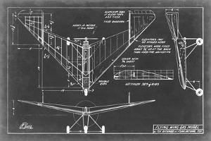 Aeronautic Blueprint V by Vision Studio