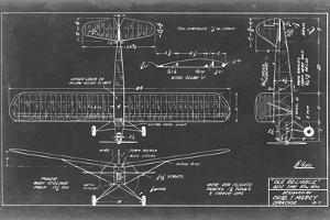Aeronautic Blueprint VIII by Vision Studio