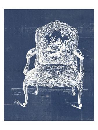 Antique Chair Blueprint V