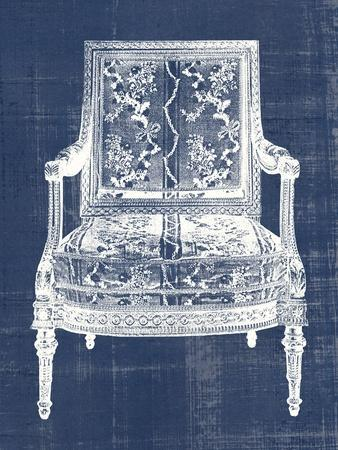 Antique Chair Blueprint VI