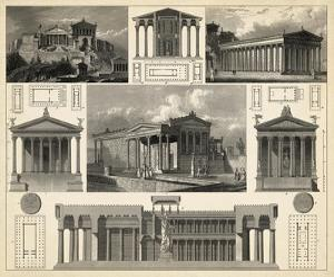 Antique City Plan I by Vision Studio