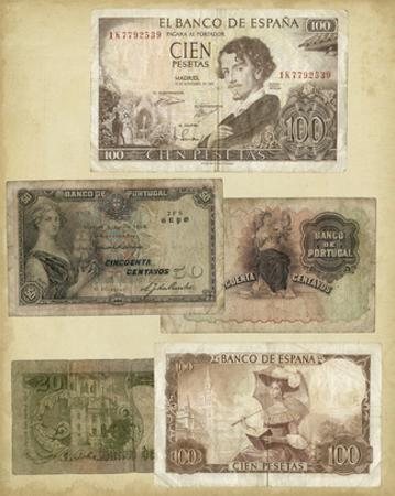 Antique Currency I by Vision Studio