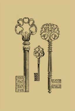 Antique Keys III by Vision Studio