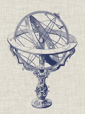 Armillary Sphere on Linen II by Vision Studio