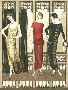 Art Deco Elegance I by Vision Studio