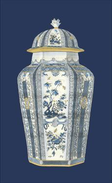 Asian Urn in Blue and White I by Vision Studio