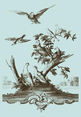 Avian Toile IV by Vision Studio