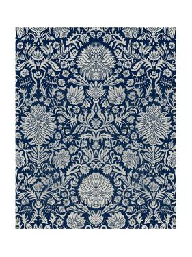 Baroque Tapestry in Navy II by Vision Studio