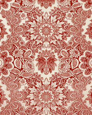 Baroque Tapestry in Red I by Vision Studio