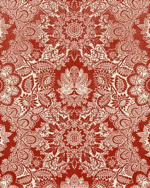 Baroque Tapestry in Red II by Vision Studio