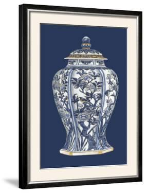 Blue and White Porcelain Vase I by Vision Studio