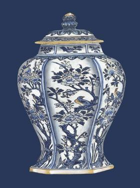 Blue and White Porcelain Vase II by Vision Studio