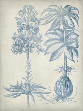 Blue Fresco Floral I by Vision Studio